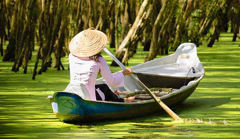 Deep into the Mekong Delta