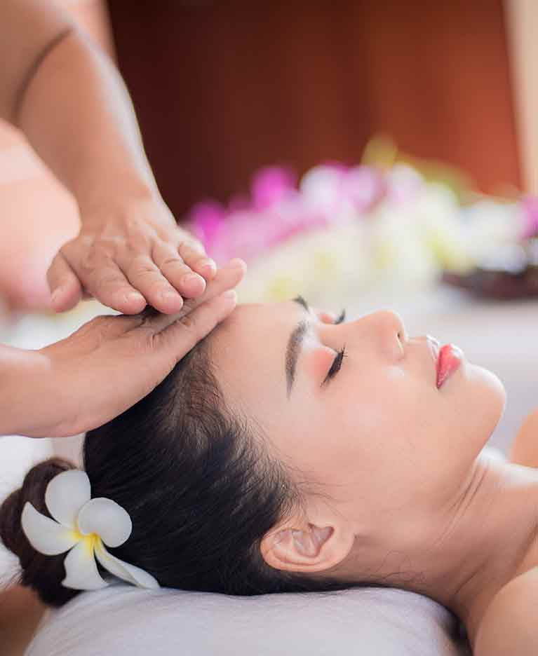 Enjoy onboard spa treatments